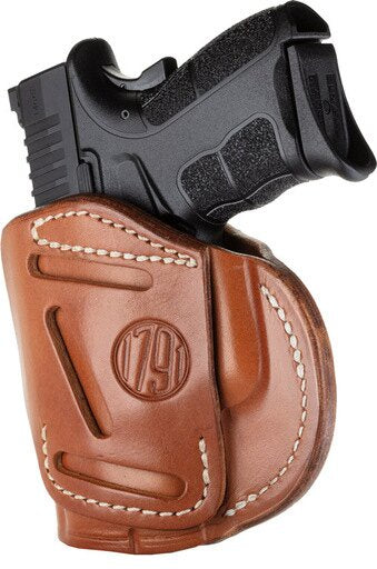 1791 FOUR WAY MULTI-FIT IWB/OWB HOLSTER RH BROWN #4