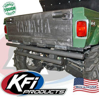 Yamaha Rhino Rear Bumper (Black Wrinkle Finish) KFI 100556