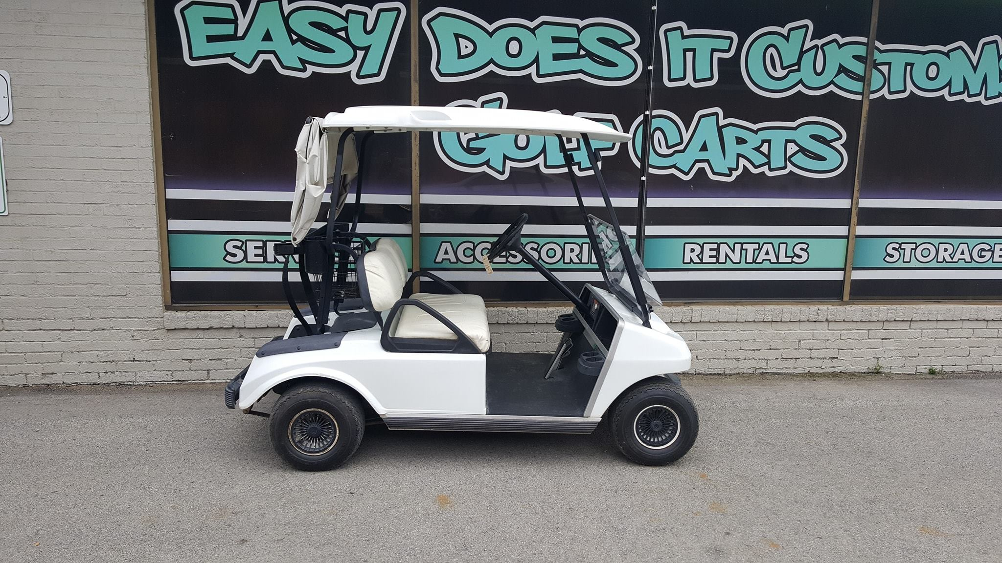 2000 Electric Club Car Ds Golf Cart Sold Easy Does It Customs Llc