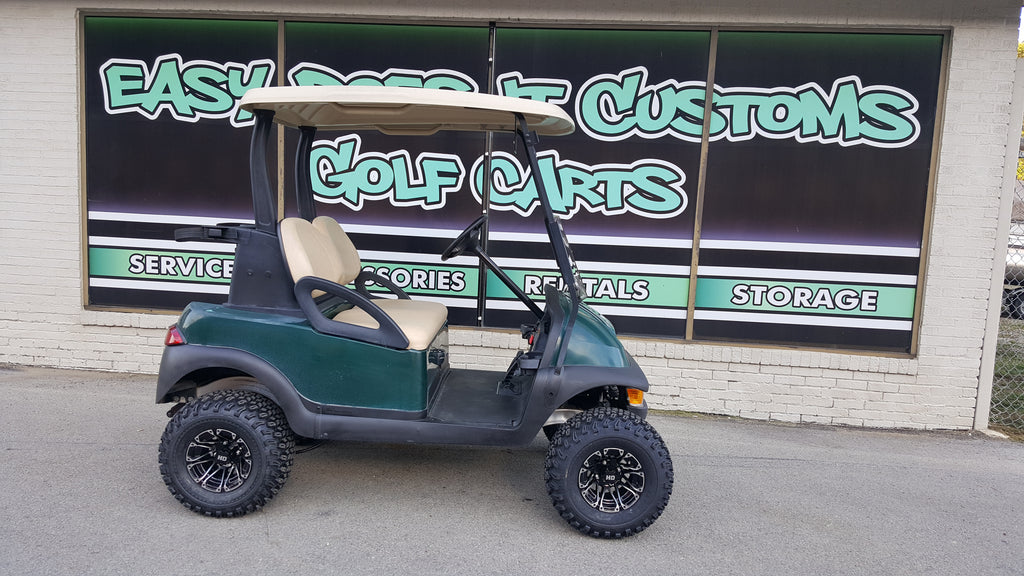 2011 Electric Club Car Precedent Golf Cart - Green and Lifted - SOLD