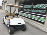 EZGO TXT Golf Cart at Easy Does It Customs