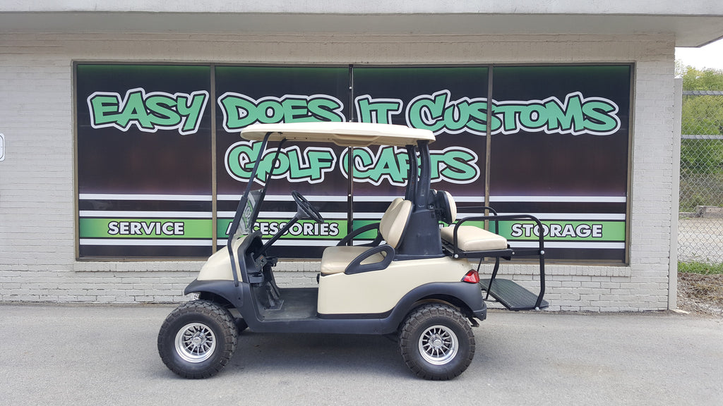 Club Car Precedent 4 Passenger Electric Golf Cart with New Batteries - SOLD