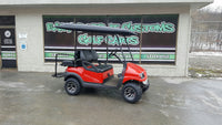 2012 Club Car Precedent Red and Black Phantom Golf Cart in Oil City