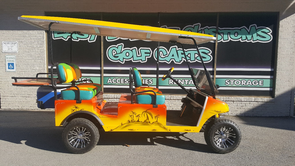 2006 Electric Club Car DS Golf Cart - Party Cart - SOLD