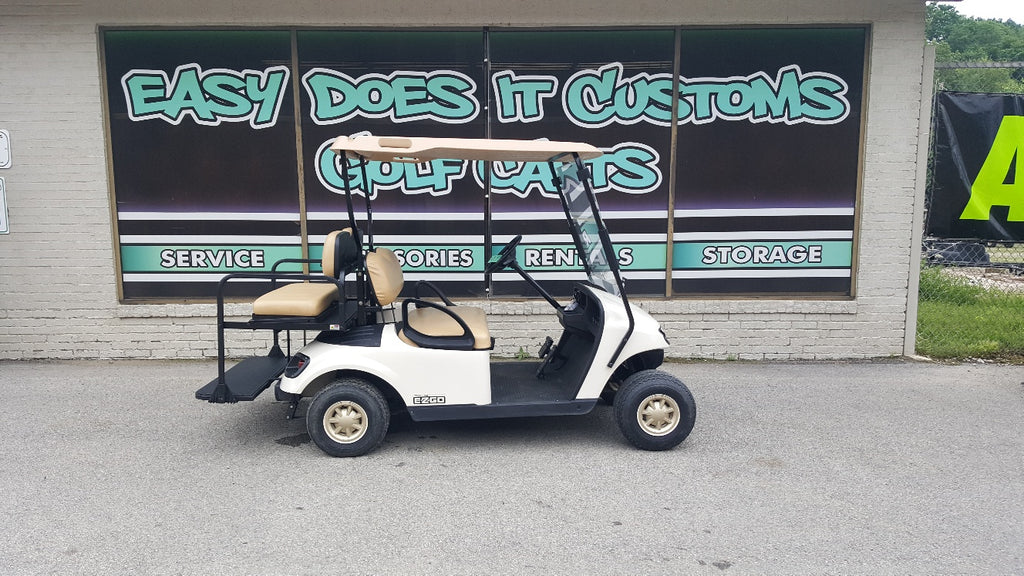 2014 Electric EZGO TXT Golf Cart - 4 Passenger