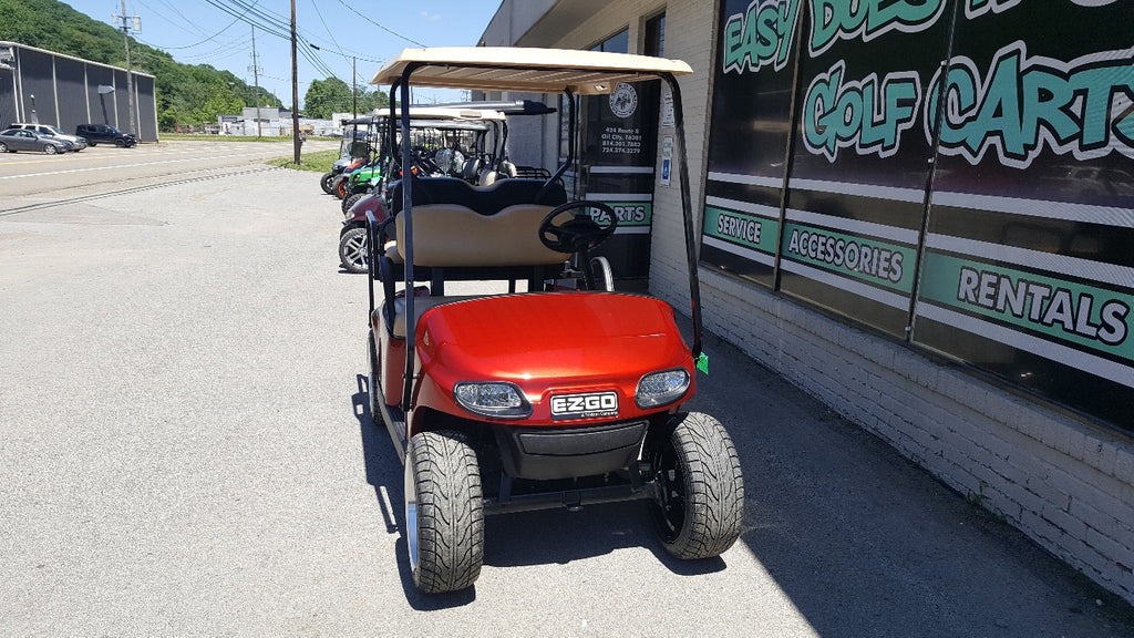 2015 Ezgo Txt Electric Golf Cart New Inferno Red Body