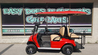 2018 Star EV Electric Golf Cart - Red - SOLD!