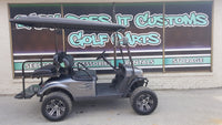 2014 EZGO TXT Electric Golf Cart with New Metallic Charcoal Body - SOLD