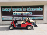 2015 Electric EZGO TXT Golf Cart - New Red Body