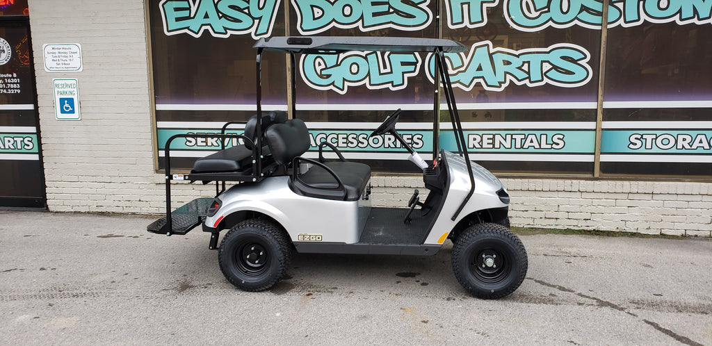 2019 Gas EZGO TXT Valor Silver Golf Cart *SOLD*