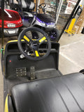 2019 GAS EZGO TXT VALOR GOLF CART - YELLOW