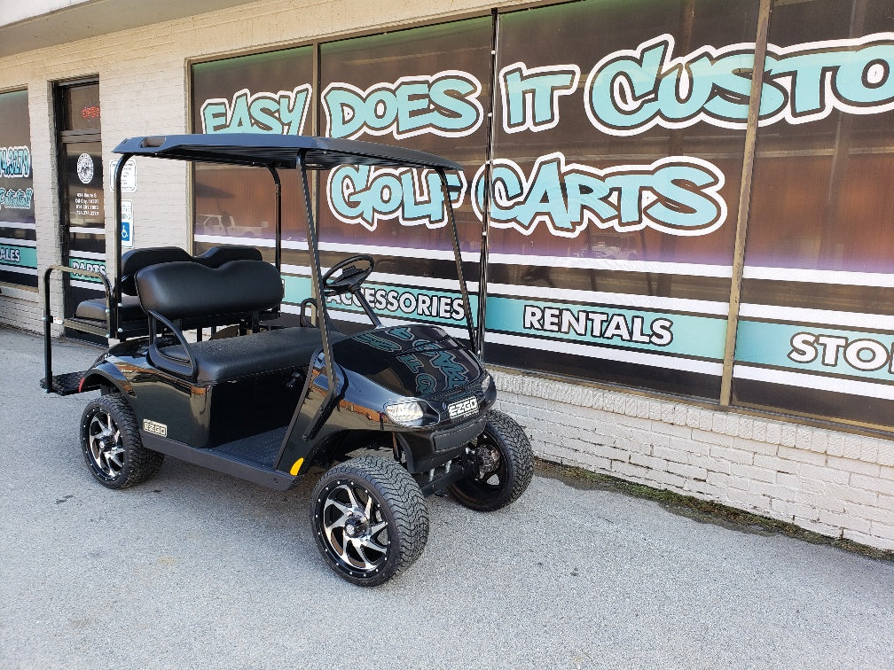 2019 EZGO TXT Valor Gas - Black SOLD