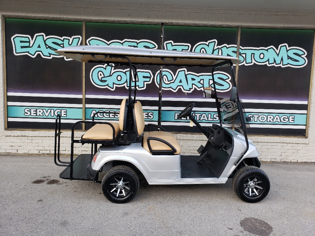 2019 Star EV Electric Golf Cart - Silver *SOLD*