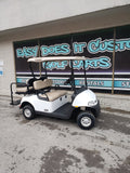 2020 Gas EZGO RXV - White Golf Cart