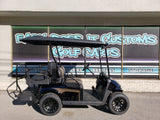 2018 Electric EZGO RXV - Custom Black and Bronze Golf Cart *SOLD*