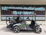 2018 EZGO RXV - Charcoal and Lime Green *SOLD*