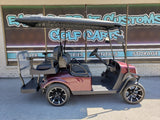 2015 Gas EZGO TXT Golf Cart- Burgundy S4 **SOLD**