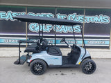 2020 EZGO TXT Golf Cart - Ocean Gray w/ Pinstripe *SOLD*
