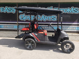 2018 EZGO RXV Golf Cart - Thin Red Line *SOLD*