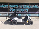 2021 EZGO Valor Ex1 Gas Golf Cart - Silver w/ Upgraded Rear Seat *SOLD*