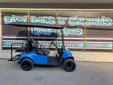 2015 EZGO RXV Golf Cart - Voodoo Blue