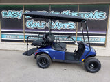 2021 EZGO Valor Ex1 Gas Golf Cart - Blue w/ Extended Roof *SOLD*