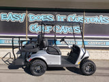 2021 EZGO Valor Ex1 Gas Golf Cart - Silver Body *SOLD*