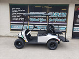 2021 EZGO VALOR EX1 GAS GOLF CART - Silver with Black Seat *SOLD*