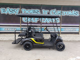 Gas Yamaha Golf Cart - Black n Yellow *SOLD*