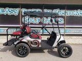 2018 EZGO TXT Gas Golf Cart - Raspberry Swirl *SOLD*