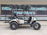 2018 Gas EZGO TXT with Tower Top - Black & Silver *SOLD*