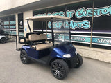 2017 EZGO RXV Electric Golf Cart - Blue 4 Passenger