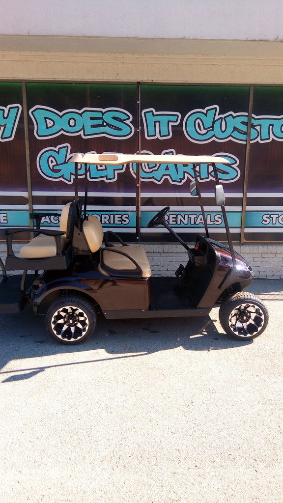 2015 EZGO TXT - Black Cherry Golf Cart *SOLD*