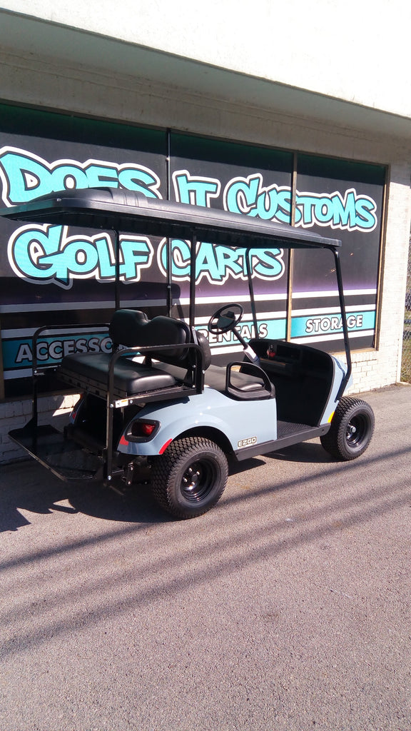 2020 EZGO Valor Gas Golf Cart - Ocean Gray