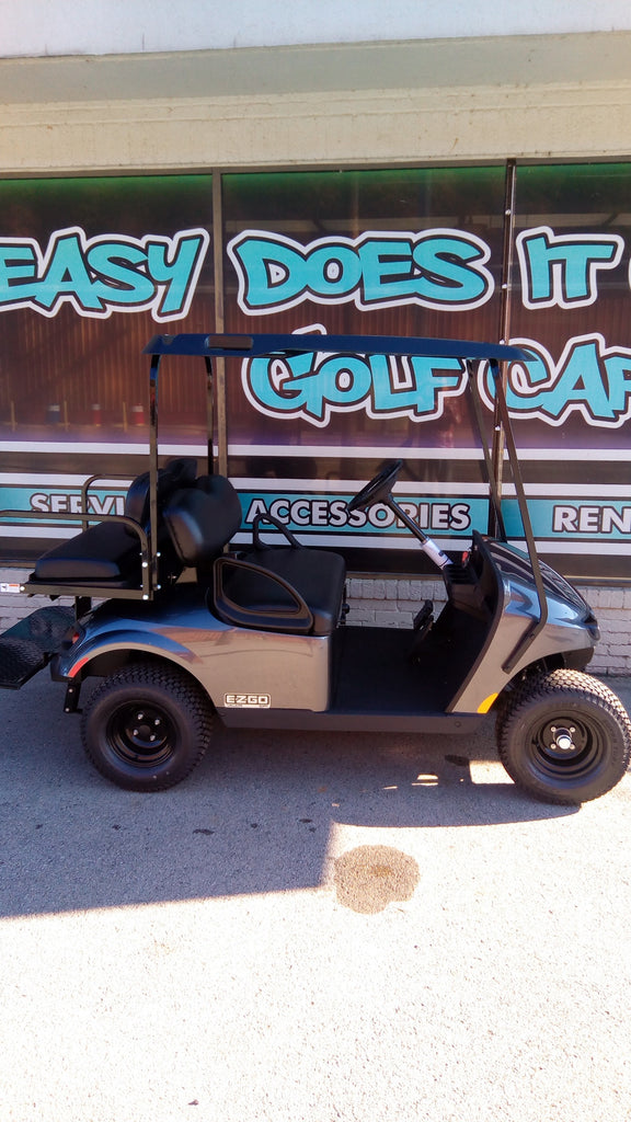 EZGO Valor Gas EFI Golf Cart - Charcoal *SOLD*