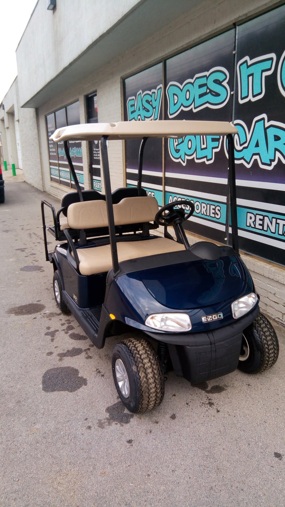 Brand New EZGO RXV Gas EFI Golf Cart - Patriot Blue