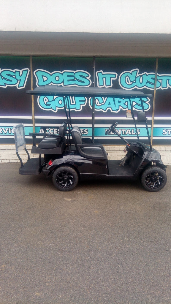 2014 Gas Yamaha Golf Cart - Black