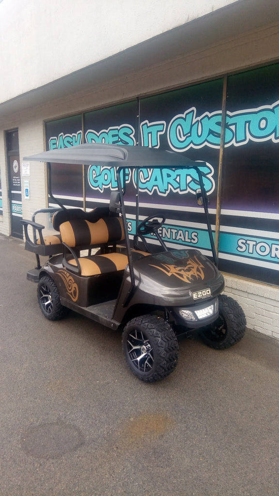 2015 Gas EZGO TXT - Charcoal and Tan *SOLD*