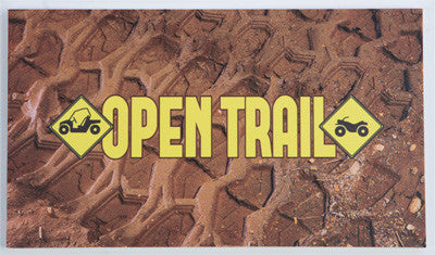 "13"" OPEN TRAIL SIGN 532-SIGN13"