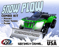 Arctic Cat 250 Utility ATV 2x4  KFI Plow Mount 105205