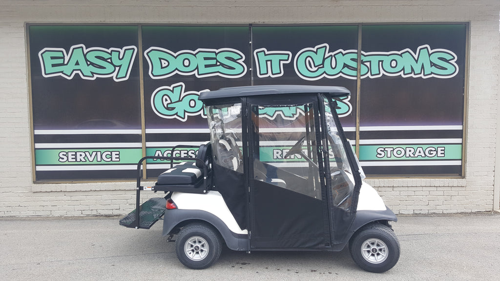 2013 Electric Club Car Precedent Golf Cart - with Enclosure SOLD