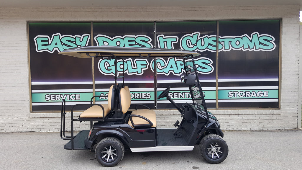 2018 Star EV Electric Golf Cart - Black - SOLD