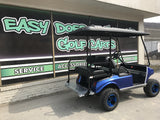 Custom Blue Club Car DS at Easy Does It Customs