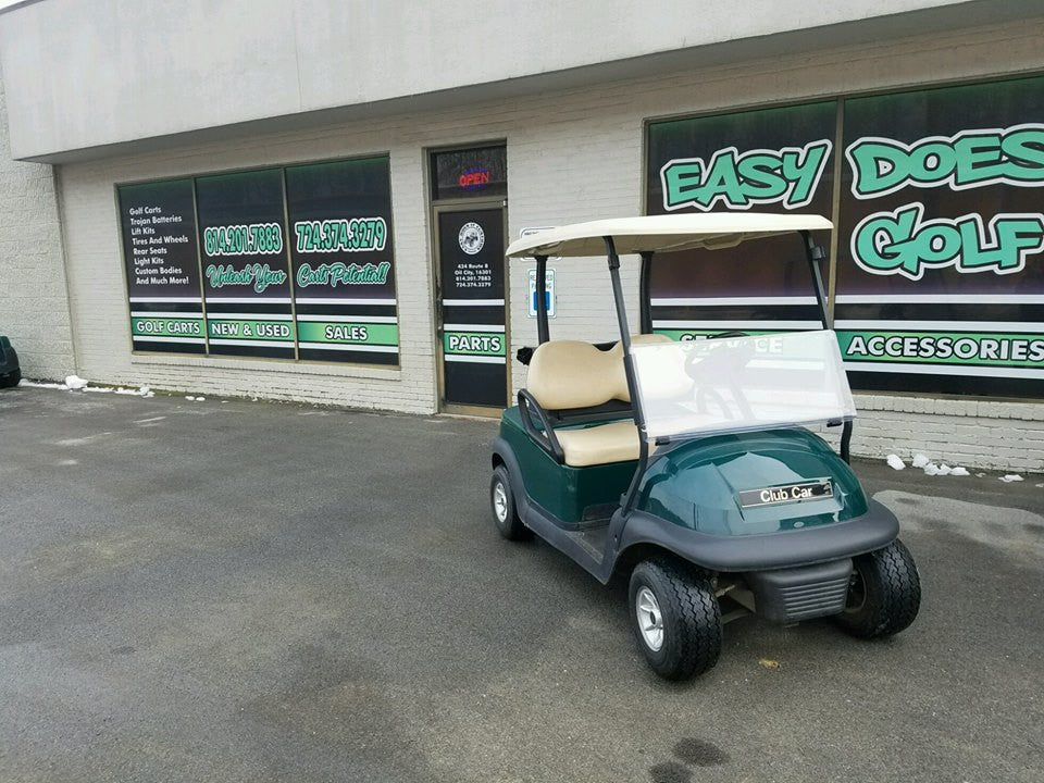 2014 Club Car Precedent Golf Cart with New Trojan Batteries - *SOLD*