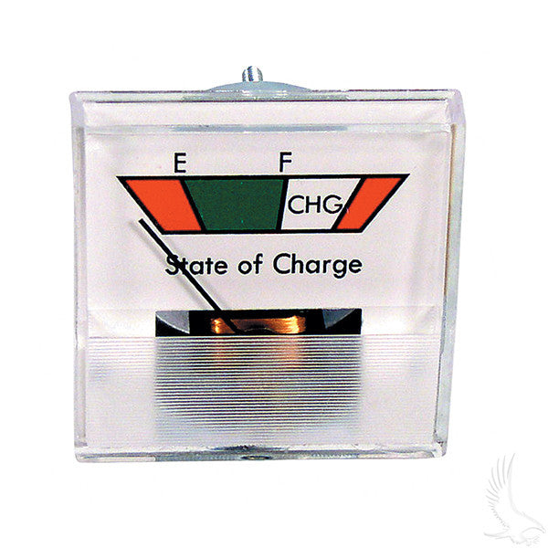 36V Square Analog State of Charge Meter