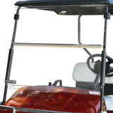 Clear Folding Windshield for EZGO RXV Golf Cart