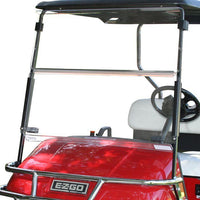 Clear Folding Windshield Pre-2014 EZGO TXT Golf Cart