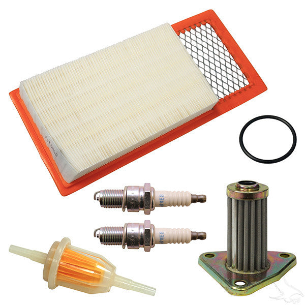EZGO 4-cycle Gas 94-05 w/ Oil Filter Tune Up Kit