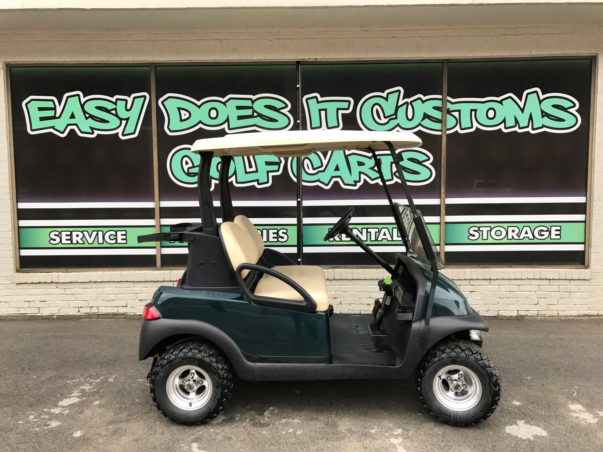 2012 Lifted Electric Club Car Precedent Golf Cart Sold Easy Does