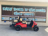 2021 EZGO VALOR 48V GOLF CART - Red *SOLD*